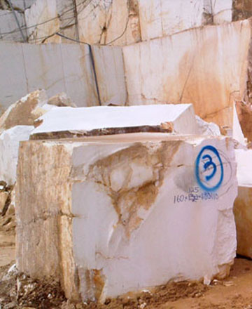 Thassos Marble Blocks