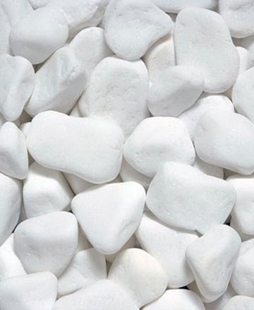 Thassos Marble Pebbles
